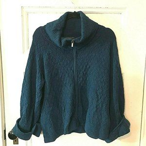 Classiques Entier Merino Wool Cowl Sweater Jacket